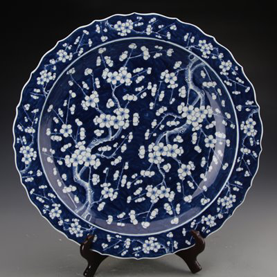 antique decorative ceramic plate