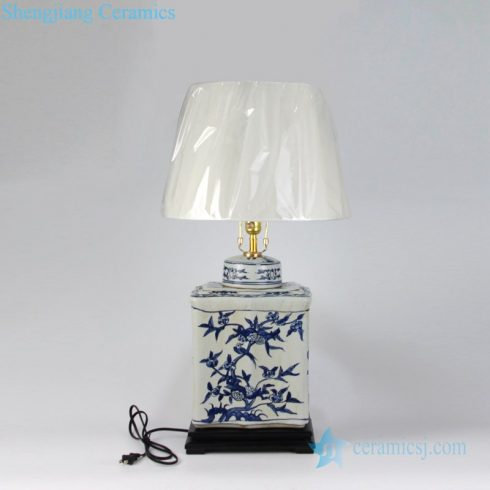 unique shape ceramic lamp