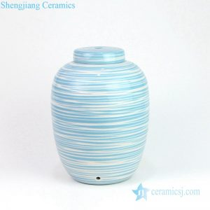 Pure and fresh handmade ceramic lamp
