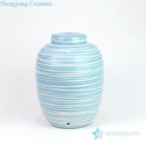 Pure and fresh handmade ceramic lamp