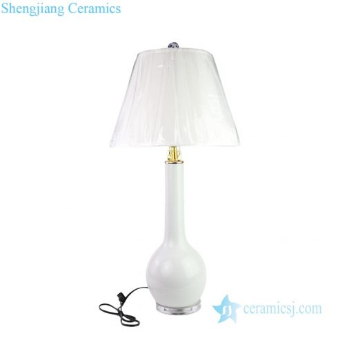 new Chinese style ceramic lamp front view
