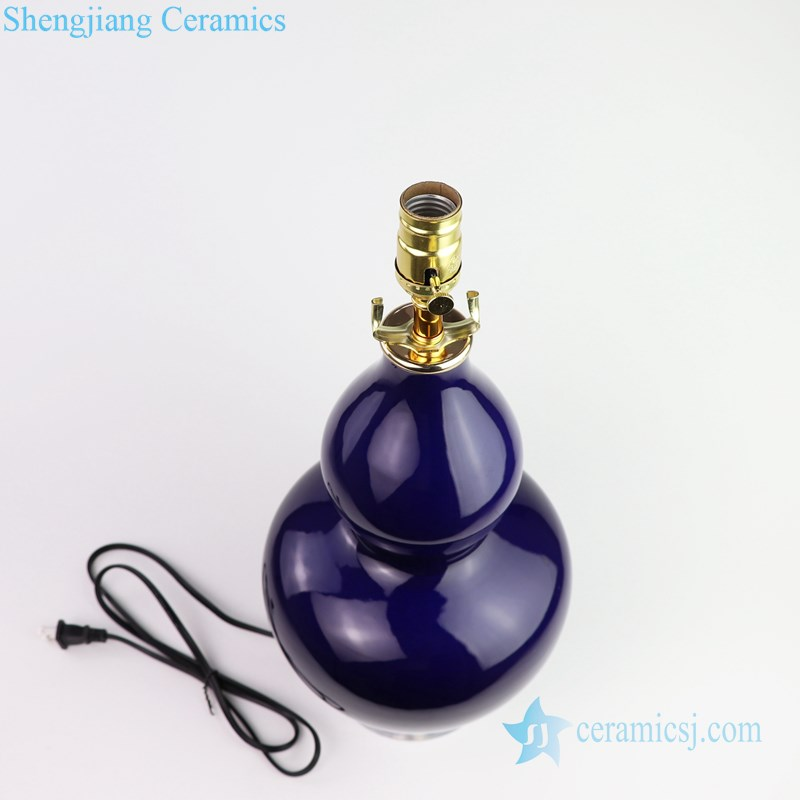 Chinese style exquisite lamp top view