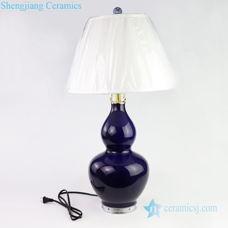 Chinese style exquisite lamp front view