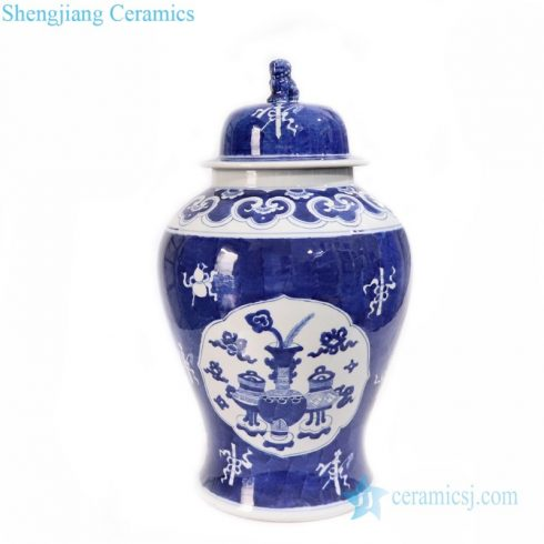 classical hand craft ceramic jar