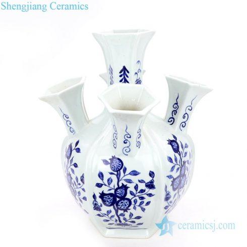 unique shape ceramic vase