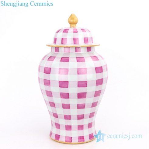 idyllic hand craft potiche jar