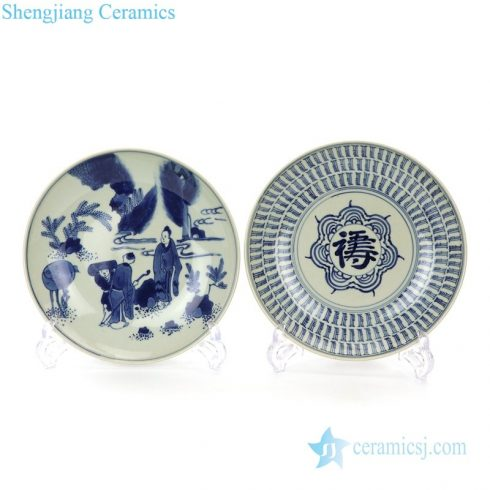 high quality hand drawing ceramic plate