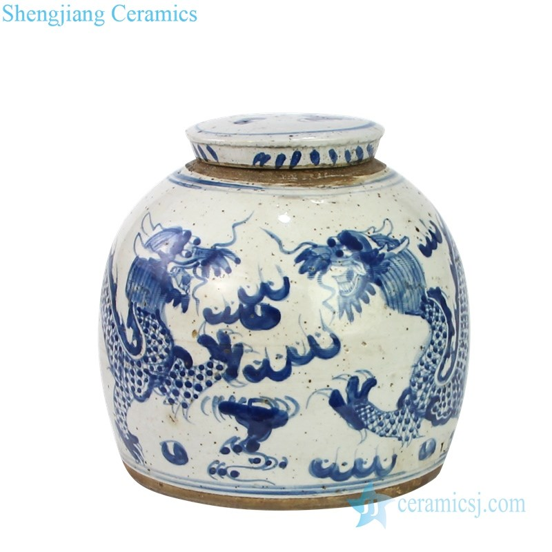 best selling blue and white tea pot
