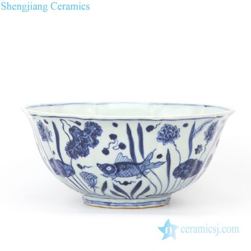 wholesale blue and white ceramic bowl