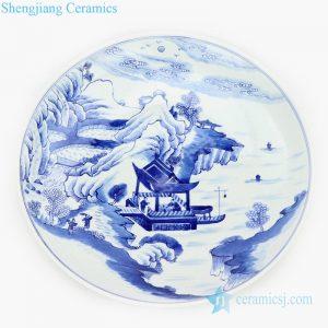 valuable mountain design plate