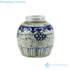 Chinese antique high-quality tea canisters front view