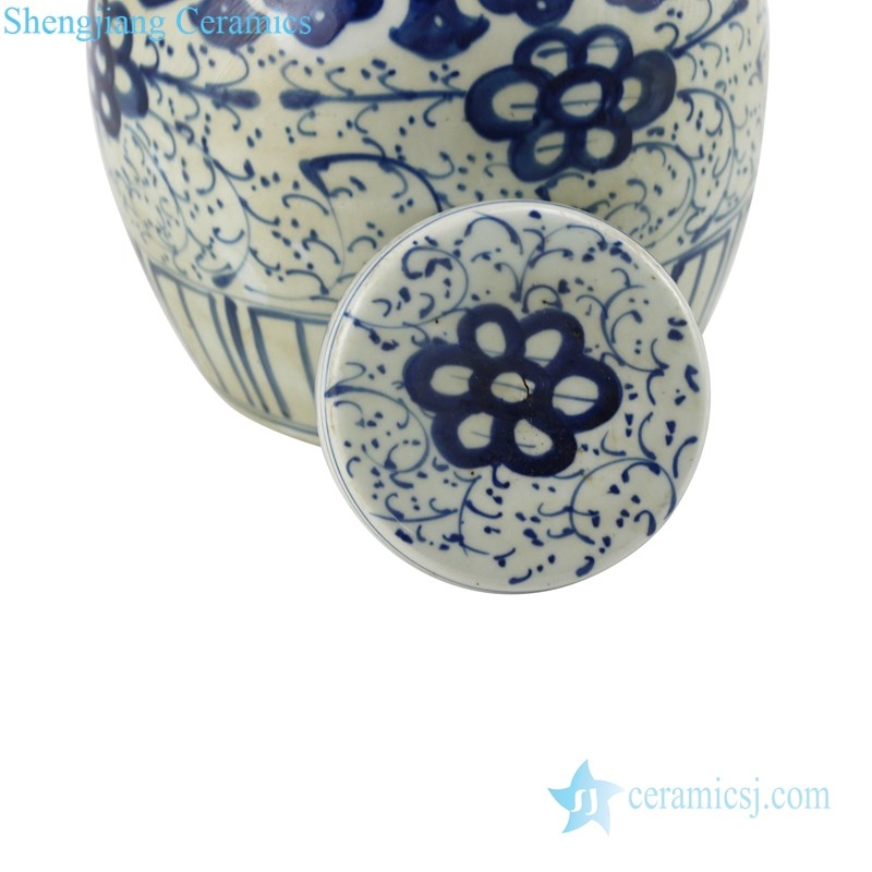 Chinese antique high-quality tea canisters detail