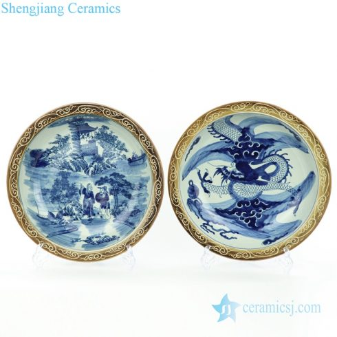 China home decor plate