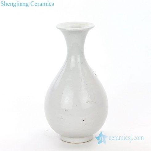 ancient monochrome ceramic vase